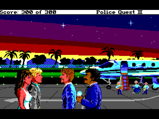 Screenshot for Police Quest 2: The Vengeance 2