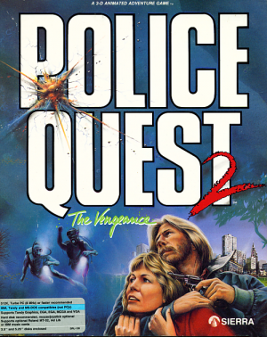 Police Quest 2: The Vengeance Box Cover