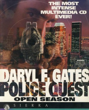 Police Quest: Open Season (Daryl F. Gates') Box Cover