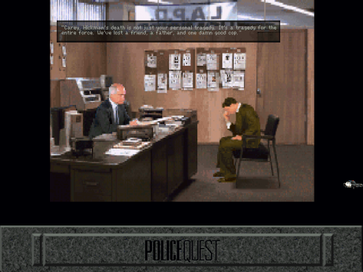 Screenshot for Police Quest: Open Season (Daryl F. Gates