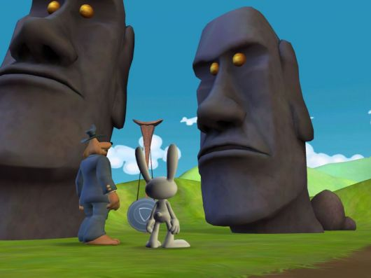 Screenshot for Sam & Max: Episode 202 - Moai Better Blues 1