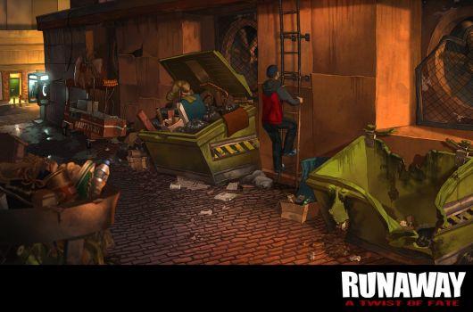 Screenshot for Runaway: A Twist of Fate 6