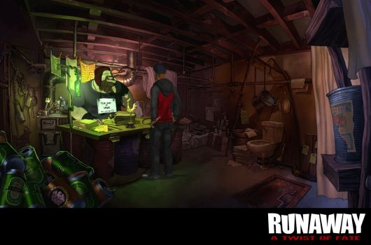 Screenshot for Runaway: A Twist of Fate 4