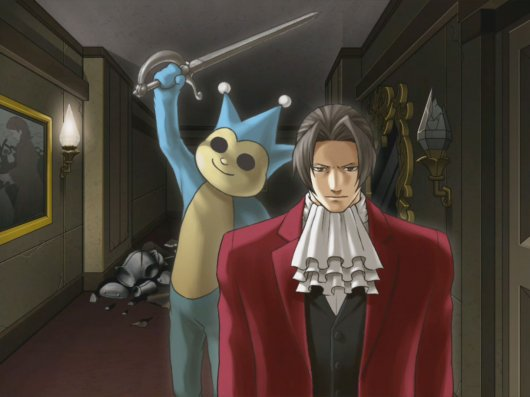 Screenshot for Ace Attorney Investigations: Miles Edgeworth 3