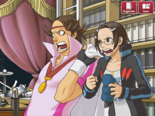 Screenshot for Ace Attorney Investigations: Miles Edgeworth 1