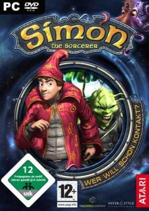 Simon the Sorcerer 5: Who'd Even Want Contact? Box Cover