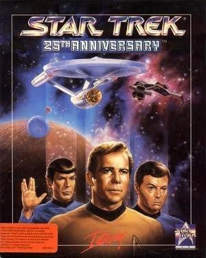 Star Trek: 25th Anniversary Box Cover