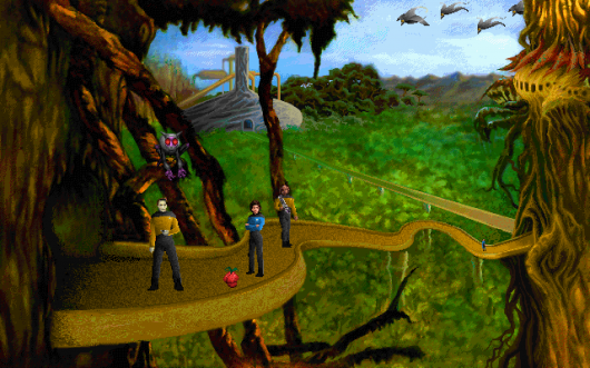Screenshot for Star Trek: The Next Generation - A Final Unity 1