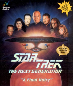 Star Trek: The Next Generation - A Final Unity Box Cover