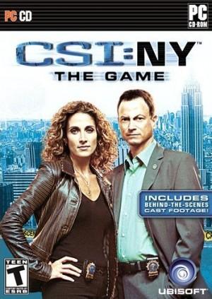 CSI: NY Box Cover