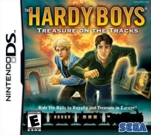 The Hardy Boys: Treasure on the Tracks Box Cover