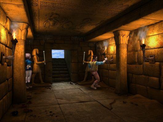 Screenshot for Diamon Jones: Amulet of the World 4