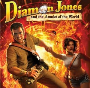 Diamon Jones: Amulet of the World Box Cover
