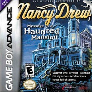Nancy Drew: Message in a Haunted Mansion (GBA) Box Cover
