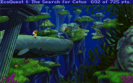 Screenshot for EcoQuest: The Search for Cetus 3