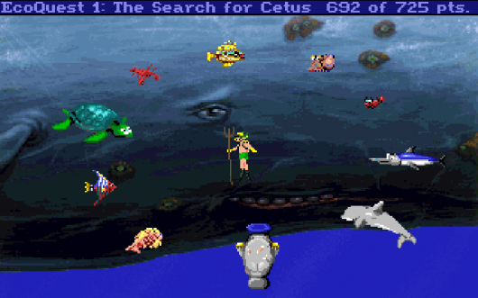 Screenshot for EcoQuest: The Search for Cetus 2
