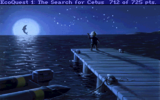 Screenshot for EcoQuest: The Search for Cetus 1