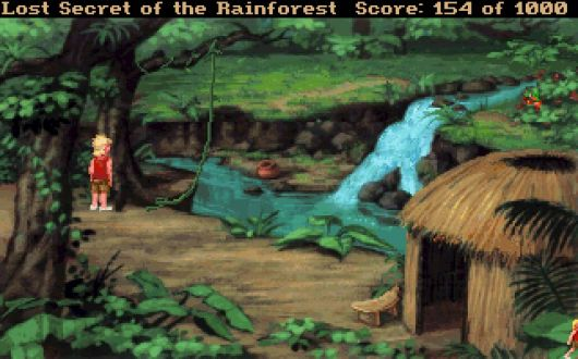 Screenshot for EcoQuest 2: Lost Secret of the Rainforest 3