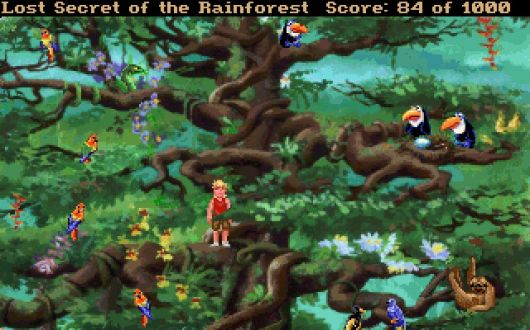 Screenshot for EcoQuest 2: Lost Secret of the Rainforest 2