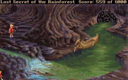 Screenshot for EcoQuest 2: Lost Secret of the Rainforest 1