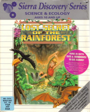 EcoQuest 2: Lost Secret of the Rainforest Box Cover