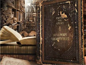 Les Misérables: The Game of the Book Box Cover