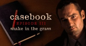 Casebook: Episode III - Snake in the Grass Box Cover
