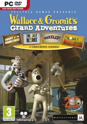 Wallace & Gromit's Grand Adventures: Episode 3 - Muzzled! Box Cover