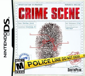 Crime Scene Box Cover