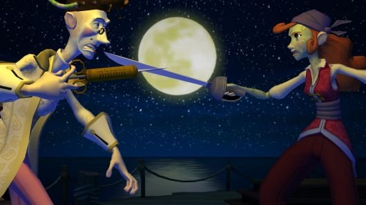 Screenshot for Tales of Monkey Island: Chapter 4 - The Trial and Execution of Guybrush Threepwood 1