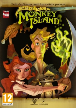 Tales of Monkey Island: Chapter 5 – Rise of the Pirate God Box Cover
