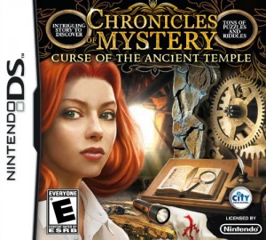 Chronicles of Mystery: Curse of the Ancient Temple Box Cover