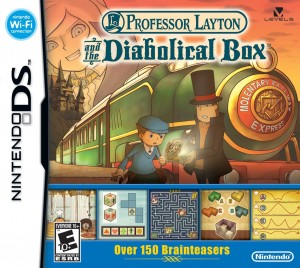 Professor Layton and the Diabolical Box Box Cover