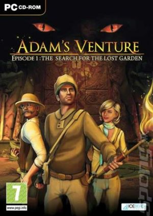 Adam's Venture: Episode 1 - The Search for the Lost Garden Box Cover