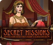 Secret Missions: Mata Hari and the Kaiser's Submarines Box Cover