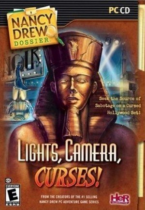 Nancy Drew Dossier: Lights, Camera, Curses! Box Cover