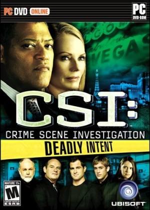 CSI: Deadly Intent Box Cover