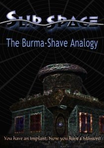 Slip Space: The Burma-Shave Analogy Box Cover