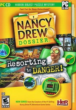 Nancy Drew Dossier: Resorting to Danger Box Cover