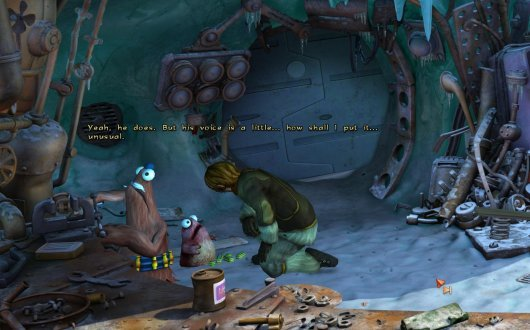 Screenshot for Book of Unwritten Tales: The Critter Chronicles, The 2