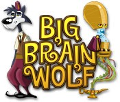 Big Brain Wolf Box Cover