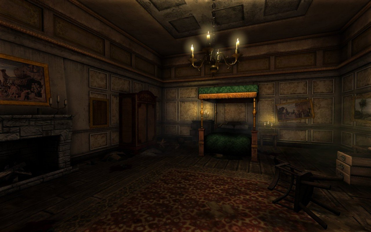 Amnesia The Dark Descent Review Adventure Gamers