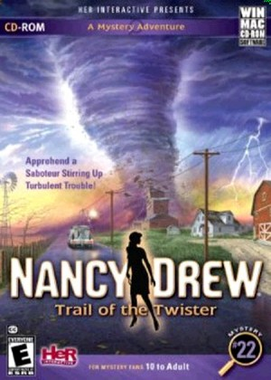 Nancy Drew: Trail of the Twister Box Cover