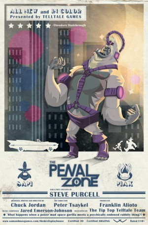 Sam & Max: The Devil's Playhouse - Episode 1: The Penal Zone Box Cover