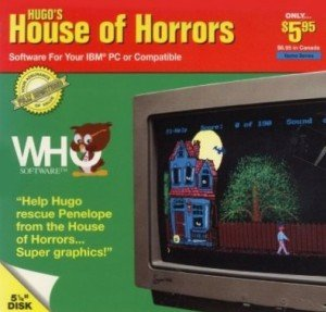 Hugo's House of Horrors Box Cover