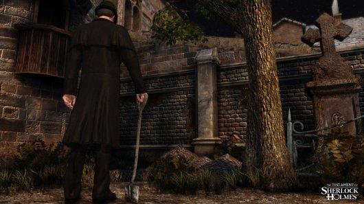 Screenshot for Testament of Sherlock Holmes, The 5