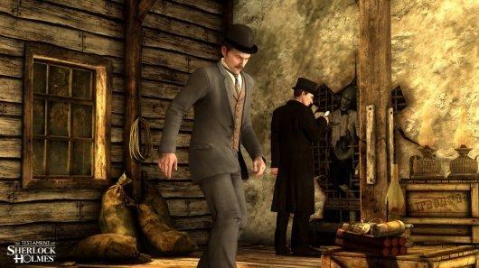 Screenshot for Testament of Sherlock Holmes, The 3