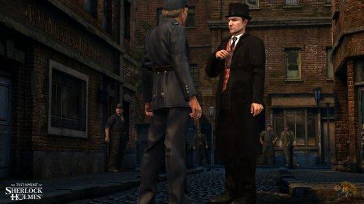 Screenshot for Testament of Sherlock Holmes, The 2