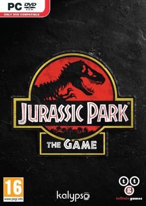 Jurassic Park: The Game Box Cover