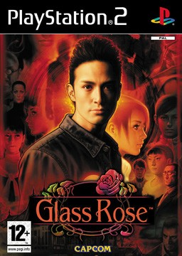 Glass Rose Box Cover